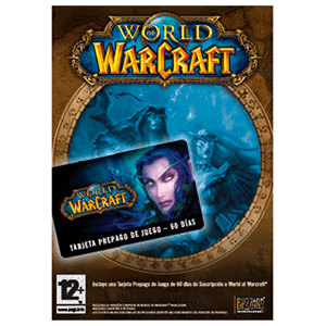 World of Warcraft - Tarjeta Prepago 2 Meses (WoW)