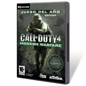 Call of Duty 4: Modern Warfare Juego del año