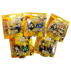 Dragon Ball Blister 2 Figuras Bandai Toys