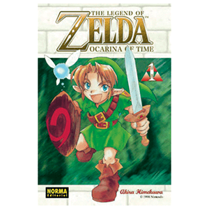 The Legend of Zelda 1: Ocarina Of Time