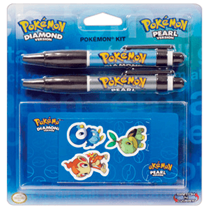 Pack Pegatinas + Lapices NDSL Pokemon