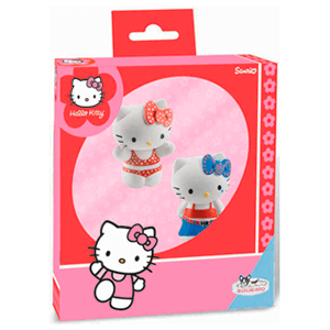Pack Figuras Hello Kitty (Bikini + Tejanos)