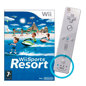 Wii Sports Resort + Wii Remote Plus Blanco