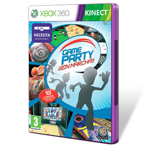 Game Party ¡¡¡En Marcha!!! (Kinect)