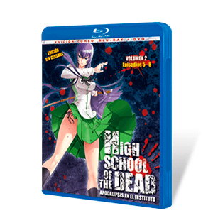 High School of The Dead Vol2 Combo