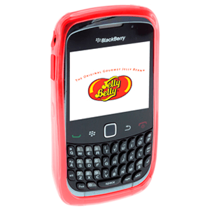 Carcasa Jelly Belly Blackberry Very Cherry rojo