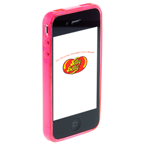 Carcasa Jelly Belly iPhone 3GS Bubblegum rosa