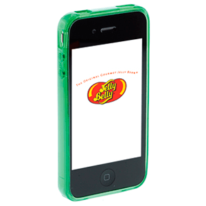 Carcasa Jelly Belly iPhone 3GS Green Apple verde
