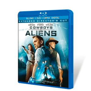 Cowboys & Aliens Bluray + DVD