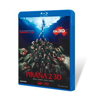 Piraña 2 Bluray + Bluray 3D