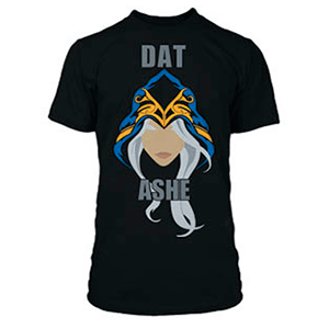 "Camiseta League of Legends ""Dat Ashe"" Talla M"