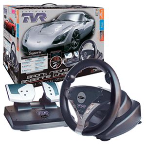 Volante TVR Sport Racing Evo PS3/PS2/PC