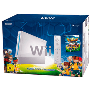 Wii Blanca + Inazuma Eleven Strikers