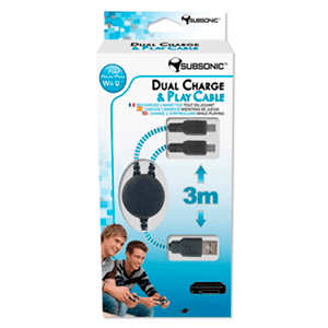 Cable Dual Charge & Play Subsonic