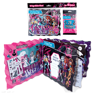 Album Pegatinas Monster High
