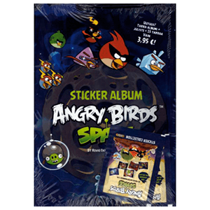 Album Stickers Angry Birds Space