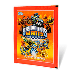Sobre Stickers Skylander Giants
