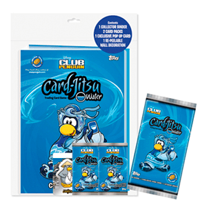 Album Trading Cards Club Penguin + 2 sobres
