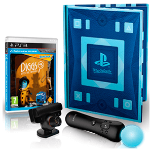 Diggs Detective Privado Wonderbook + Move Motion Controller + Camara