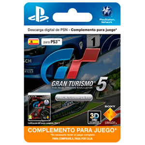 Gran Turismo 5 Complete Pack (Add-On)