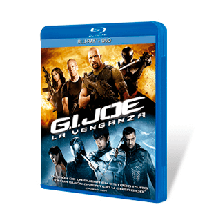 G.I. Joe: La Venganza Bluray + DVD