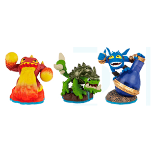 Skylanders Swap Force Triple Pack A: Eruptor + Slobber Tooth + Pop Fizz
