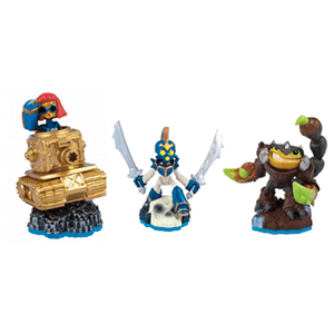 Skylanders Swap Force Triple Pack D: Sprocket + Chop Chop + Scorp