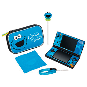 Pack 5 en 1 Cookie Monster 3DS XL