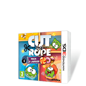 Cut the Rope Pack 3 juegos