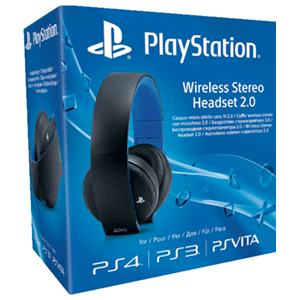 Auriculares Wireless Estereo SONY PS4/PS3/PSV