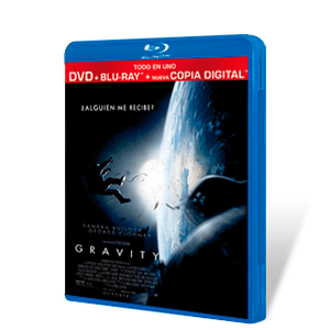 Gravity Bluray + DVD