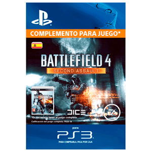 x Battlefield 4: Second Assault (PS3)
