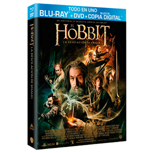 El Hobbit: La Desolación de Smaug Bluray + DVD + Copia Digital Edicion Limitada