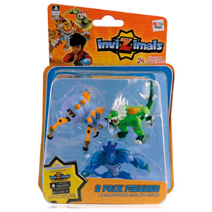 Invizimals - Pack 3 Figuras