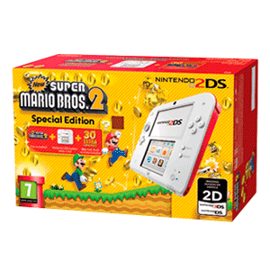 Nintendo 2DS Roja + New Super Mario Bros 2