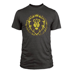 "Camiseta World of Warcraft ""Escudo de la Alianza"" Talla S"
