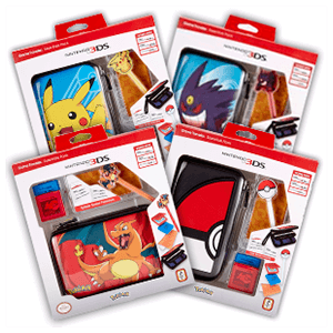 Pack de Perifericos Pokemon para 3DSXL