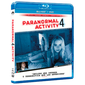 Paranormal Activity 4 (Combo)