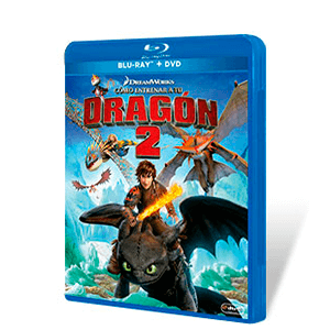 Como Entrenar a tu Dragon 2 Bluray + DVD