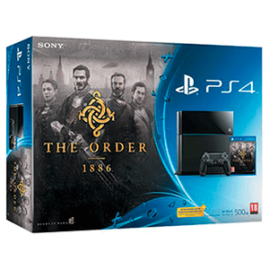 Playstation 4 500Gb + The Order 1886