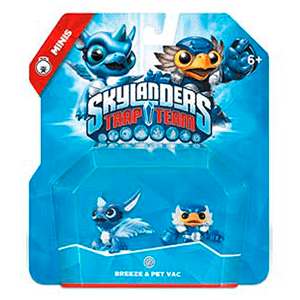 Figura Skylanders Trap Team Minis: Breeze-Pet Vac