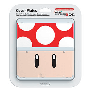 New 3DS Carcasa: Toad Roja