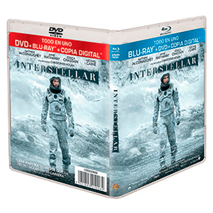 Interstellar Bluray + DVD + Copia Digital