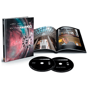 Interstellar Digibook Bluray 2 Discos Edición Limitada