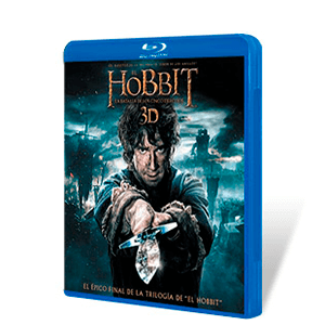 El Hobbit: La Batalla 5 Ejércitos Bluray + Bluray 3D + Copia Digital