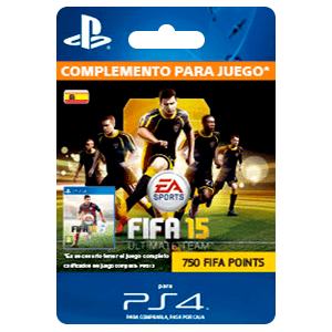 x 750 FIFA 15 Points (PS4)