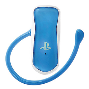 Blue Bluetooth Headset Official Sony 4 gamer