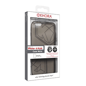 Carcasa Jelly Gris para iPhone 6 Plus Khora