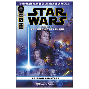Comic Star Wars: Episodio III (Parte 1)