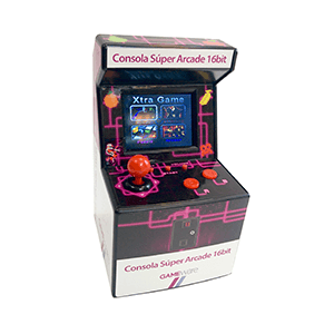 Consola Super Arcade 16Bit GAMEware
